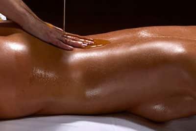 Beautiful redhead MILF Brooke Adams having naked body oiled and massaged № 862882  скачать